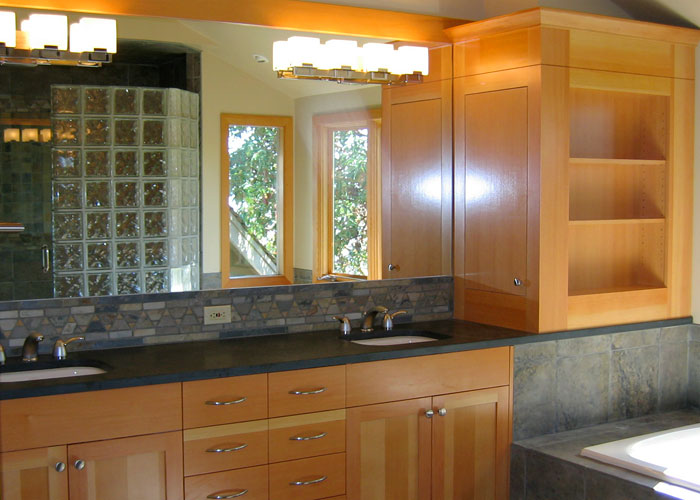 Shafer residence master bathroom remodel